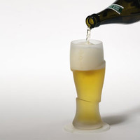 Sliced Cold Beer Glasses | Kitchen and Tabletop | Animi Causa Boutique