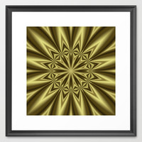 Gold Nugget Framed Art Print by Eric Rasmussen