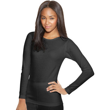 Duofold by Champion Thermals Womens Base-Layer Shirt