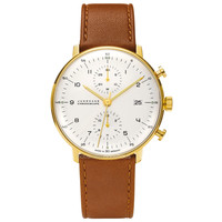 Max Bill 027/7800.00 Chronoscope watch by Junghans