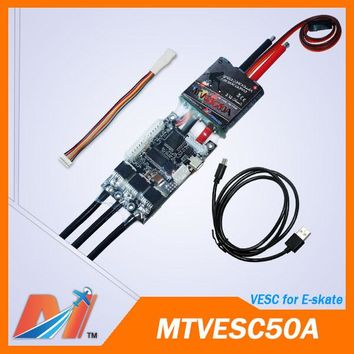 Maytech hoverboard electric skateboard esc 50a 12s vesc for diy e bike kit(1pc free shipping)