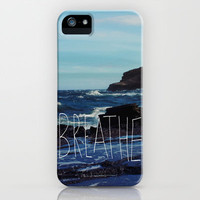 Breathe iPhone Case by Leah Flores | Society6