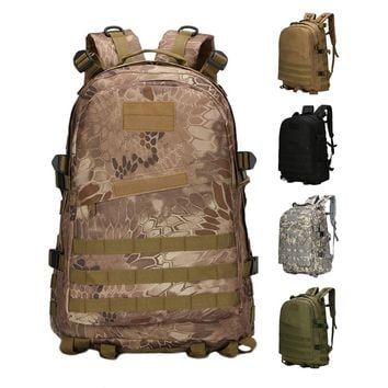 40L 3D Outdoor Sport Military Tactical Climbing Mountaineering Backpack Camping Hiking Trekking Rucksack Travel Outdoor Bag