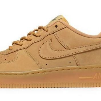 NIKE Air Force 1 Low Yellow For Women Men Running Sport Casual Shoes Sneakers