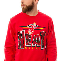The Miami Heat Sweatshirt in Red
