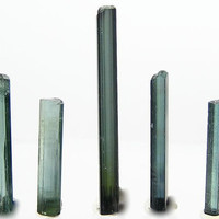 Tourmaline Indicolite Blue Gemstone Rough 17 carats