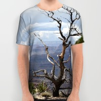Canyon Ghost All Over Print Shirt by Lisa Argyropoulos | Society6