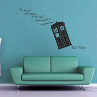 We're All Stories - Doctor Who Wall Decal - No 1