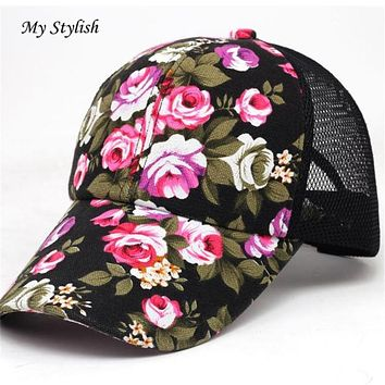 1PCS Baseball Caps 2017 Brand New Embroidery Cotton Baseball Cap Boys Girls Snapback Hip Hop Flat Hat High Quality  Dec 26
