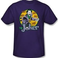 The Joker T-Shirt | Licensed DC Comics Batman Shirt |OldSchoolTees.com