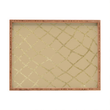 Georgiana Paraschiv Gold V01 Rectangular Tray