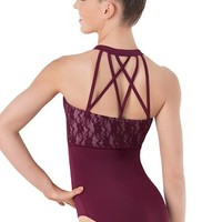 Lace Halter Leotard