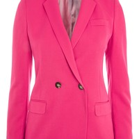 Double Breasted Suit Jacket | Topshop