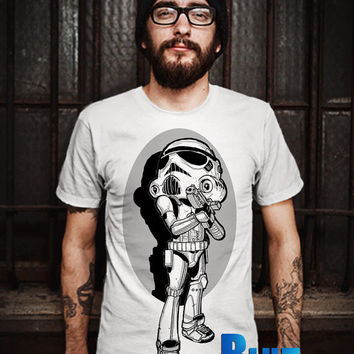 STOMROOPER LIGHT TORCH T-Shirt - Stormtrooper(Star Wars) - Soldier - The Walt Disney Design T-Shirt for Men (Various Color Available)