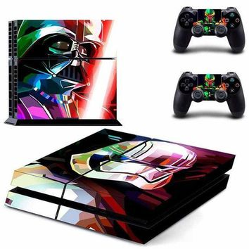 VONE05K Vinyl Sticker PS4 Skin Decal Sticker Star Wars: Battle Front II For PlayStation4 Console and 2 controller skins