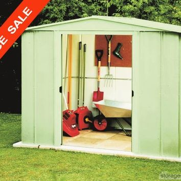Arrow 6x7 premier metal shed ships free from for 6x7 bathroom ideas