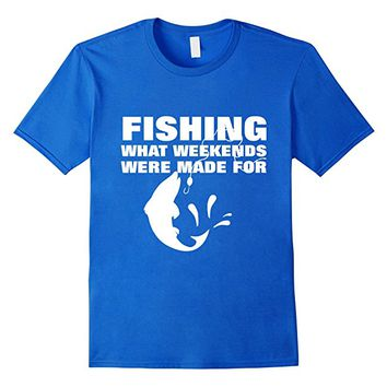 Fishing Typography Fun Text Graphic T-Shirt