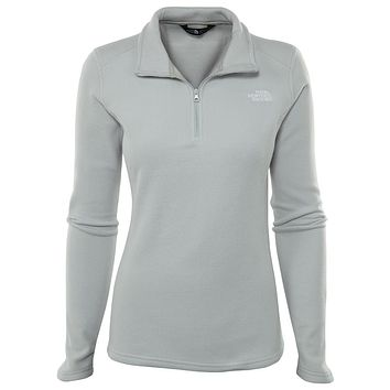 North Face Glacier 1/4 Zip Womens Style : A2red
