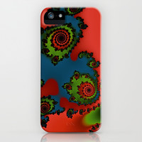 Fractal Dimentions iPhone & iPod Case by Christy Leigh | Society6