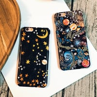 Star Universe Pattern Phonce Case Cover for iPhone 6S & iPhone 6S Plus