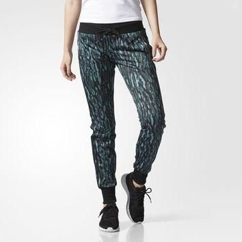 adidas Animal Print Track Pants - Green | adidas US