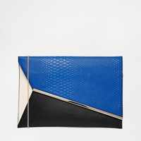 New Look | New Look Abbi Aysymmetric Clutch Bag at ASOS
