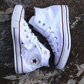 Converse All Star Sneakers Adult Leisure High-Top Leisure shoes White