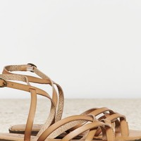 AEO Women's Strappy Thong Sandal