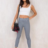 Iggy Gingham Pants
