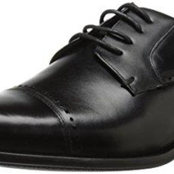 Stacy Adams Men's Stanwick Cap Toe Oxford, Black, 10.5 M US