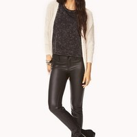Daring Faux Leather Pants