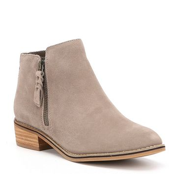 Blondo Waterproof Liam Suede Booties | Dillards