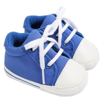 Canvas Baby Shoes Boy/Girl Sneaker Soft Sole Shoes