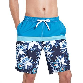 SBART Men Swim Shorts Quick-drying Swimming Trunks Sports Swim Briefs Men's Shorts Beach Shorts Swimwear Men Swim Bottom Spandex