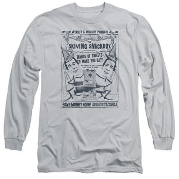 Harry Potter - Skiving Snackbox Long Sleeve Adult 18/1 Officially Licensed Shirt
