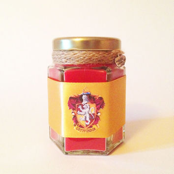 Harry Potter Gryffindor Wood Wick Candle
