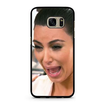 Kim Kardashian Ugly Cry Samsung Galaxy S7 Case