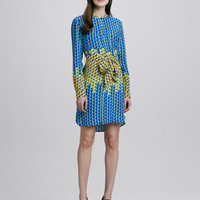 MARC by Marc Jacobs Paradox Printed Tie-Waist Dress
