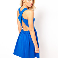 ASOS Sundress With Cross Back