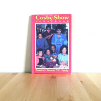 The Cosby Show Scrapbook: America's Favorite T.V. Family {1986} Vintage Book