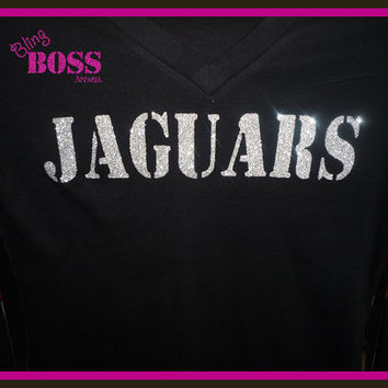 Bling Shirt Sparkle Team School Sports Ladies Girls, Glitter Custom Design your own Colors, Sports Team Name Birthday Personalized