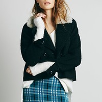 Knitz by For Love & Lemons Apre Plaid Sweater Skirt