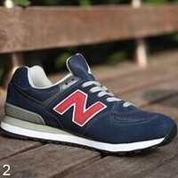 New Balance male and female fashion trend sports couple running shoes NO.2