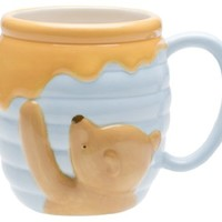 Zak Designs Disney Winnie The Pooh Ceramic Sculpted Mug