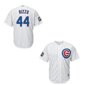 Anthony Rizzo Chicago Cubs Youth World Series Patch Cool Base White Replica Jersey