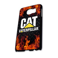caterpillar and fire Samsung Galaxy S6 Case