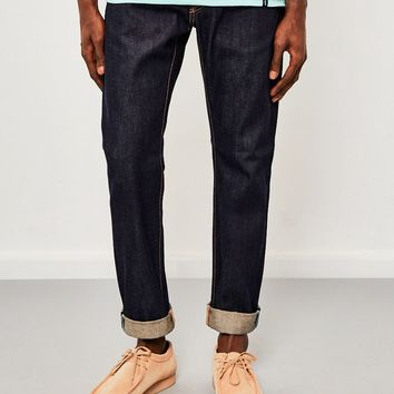 Edwin ED-55, Regular Tapered, 63 Rainbow Selvedge Jeans, Unwashed