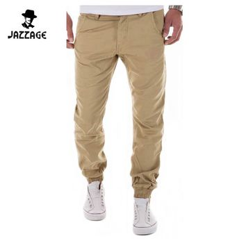 Mens Joggers Male Trousers Men Pants Casual Solid Pants Sweatpants Jogger Harem Khaki Sweatpants XXXL YTA