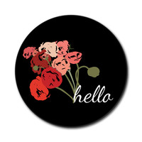 Hello Bouquet Flowers Ranunculus Mouse Pad