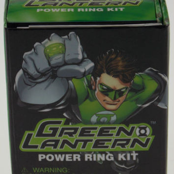 Lot of 2 Green Lantern Power Ring Mega Mini Kits DC Comics Gift Running Press